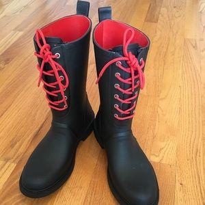 Rag & Bone Ansel Lace-Up Rain / Winter Boots
